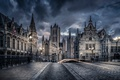 Картинка Бельгия, Гент, Bridge St Michiels