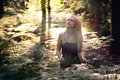 Картинка взгляд, портрет, в лесу, Lea, Martin Kuhn
