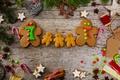 Картинка christmas, Рождество, новогоднее, cookies, еда, Christmas, New Year