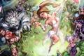Картинка Ahri, Syndra, League Of Legends, Mordekaiser, Zed, the Secret Weapon, Zac