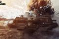 Картинка Object 268, ST-I, USSR, танк, танки, СССР, World of Tanks