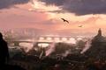Картинка Assassin's Creed IV: Black Flag, арт, остров, пираты, море