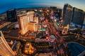 Картинка закат, Лас-Вегас, США