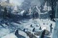 Картинка снег, могилы, погост, Castlevania, Lords of Shadow, клабдище