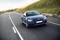 Картинка дорога, поле, Audi, ауди, купе, Coupe, quattro