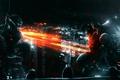 Картинка Дождь, Спецназ, Город, Вертолет, Battlefield 3, Штурм
