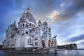 Картинка Париж, Paris, France, Montmartre, basilique