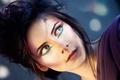 Картинка девушка, лицо, причёска, голубоглазая
