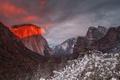 Картинка Illumination, Yosemite National Park, El Capitan