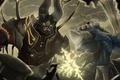 Картинка fight, Dota 2, Sven, Doom Bringer