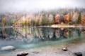 Картинка озеро, осень, природа