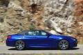 Картинка Авто, Синий, BMW, Машина, Кабриолет, Вид сбоку, В Движении