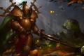 Картинка меч, броня, Heroes of Newerth, Accursed, Green Knight