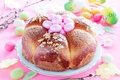 Картинка яйца, хлеб, Пасха, cake, кулич, выпечка, Easter