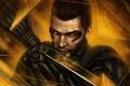 Картинка лицо, мужчина, киборг, Square Enix, art, Deus Ex: Human Revolution, human revolution