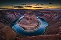 Картинка природа, река, Колорадо, каньон, Аризона, США, Arizona