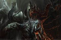 Картинка игра, монстр, фэнтези, рога, fantasy, game wallpapers, Диабло 3
