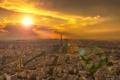 Картинка город, Paris, Sunshine