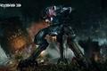 Картинка робот, разрушения, Crysis, Crytek, Electronic Arts, CryEngine 3