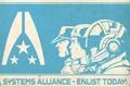 Картинка mass effect, poster, alliance