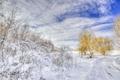 Картинка зима, дорога, снег