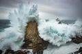 Картинка море, скалы, волна