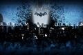 Картинка Черный, Ночь, Город, Снег, Мыши, Batman, Batman: Arkham Origins