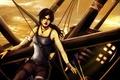 Картинка девушка, лук, крофт, лара, tomb rider