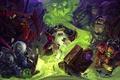 Картинка карты, кот, арт, чума, Hearthstone, Mr--Jack, Таддиус
