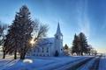 Картинка North Dakota, Grandfield Lutheran Church, Eddy County