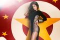 Картинка девушка, платье, брюнетка, Katrina Kaif