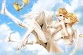 Картинка крылья, клетка, Vocaloid, балет, Kagamine Twins