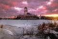 Картинка закат, Россия, Выборг