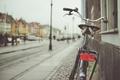 Картинка велосипед, улица, боке, Copenhagen