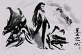 Картинка art, StarCraft 2 Heart of the swarm, Sarah kerrigan, zergs