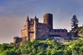 Картинка замок, стены, башня, Германия, Germany, Castle Katz