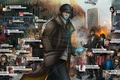 Картинка fan art, Watch Dogs, Aiden Pearce, hacking