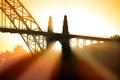 Картинка свет, пейзаж, мост
