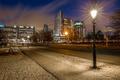 Картинка Netherlands, Blue Hour, Hague