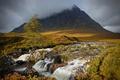 Картинка гроза, облака, горы, река, водопад