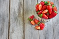 Картинка ягоды, клубника, миска, strawberry, bowl