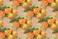 Картинка роза, букет, текстура, фон, цветы