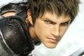 Картинка Final Fantasy, лицо, воин, парень, меч, игра, взгляд