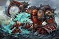 Картинка магия, панда, World of Warcraft, орк, wow