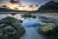 Картинка море, природа, скалы, рассвет, побережье