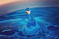 Картинка вода, капли, макро