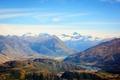 Картинка горы, долина, Новая Зеландия, ущелье, Otago