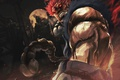Картинка демон, боец, devil, Street Fighter, Akuma, capcom