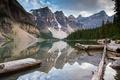 Картинка горы, природа, озеро, Lake Minnewanka