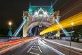 Картинка мост, огни, Англия, Лондон, Tower Bridge